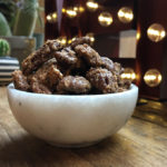 sweet and spicy party pecans recipe