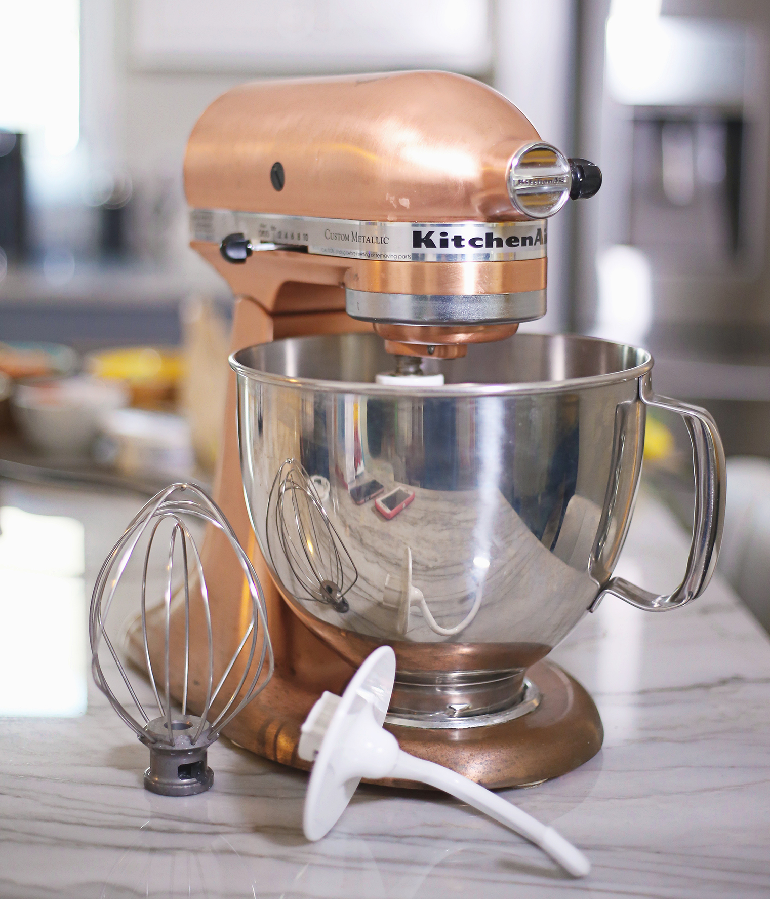 Copper Pearl Kitchen Aid Mixer My Stir Crazy Kitchen