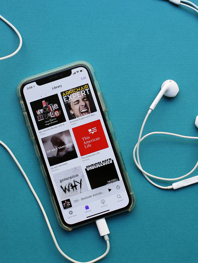 Listen Up! My Favorite Podcasts