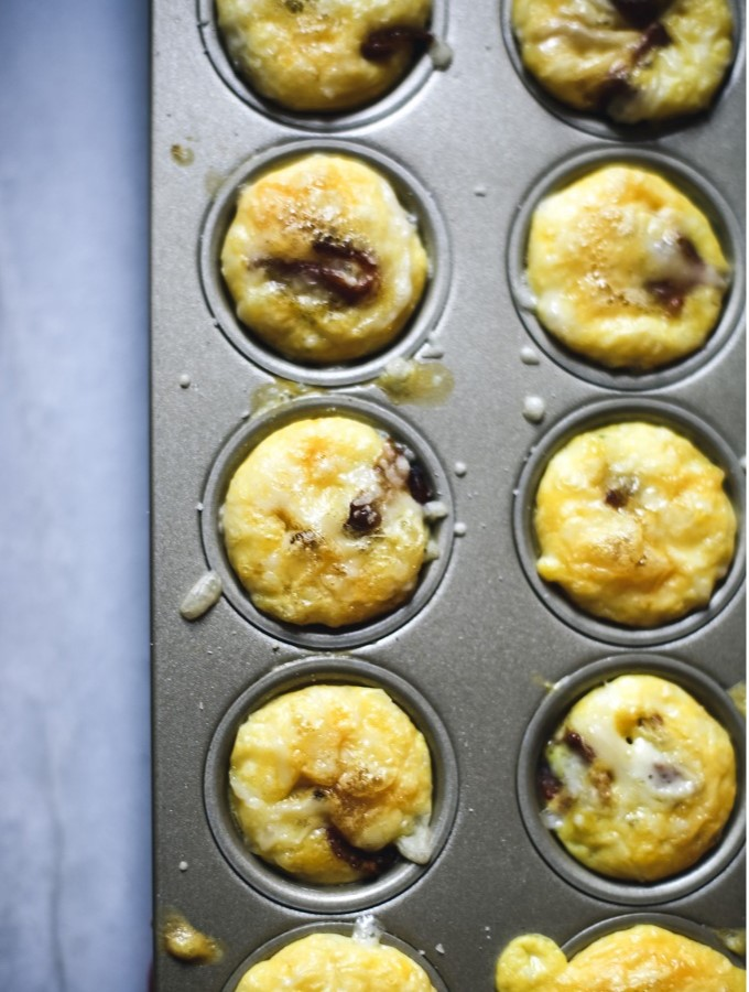 Easy Bacon & Egg Bites for the Quickest Breakfast